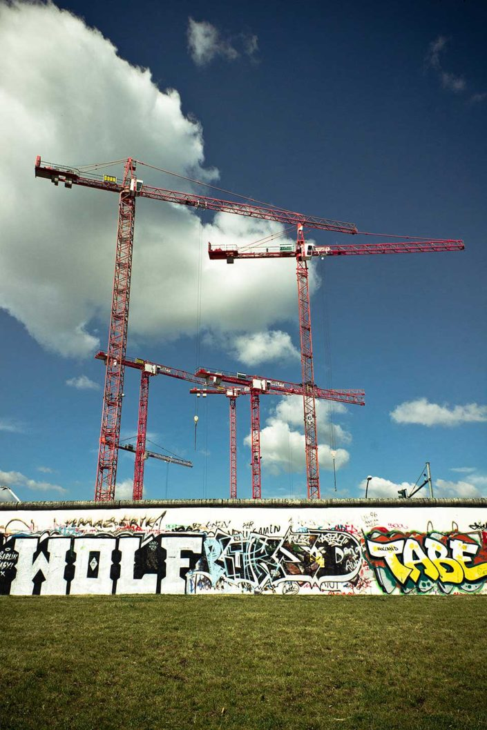 Grafittis en el muro de Berlin