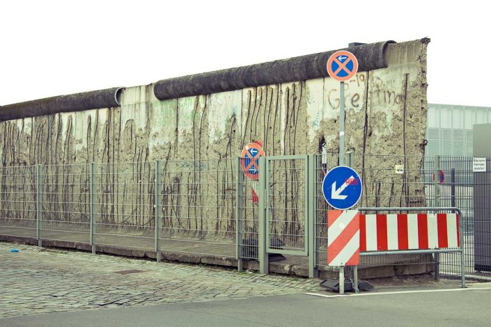 Resto de muro de Berlín