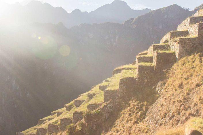 Terraza de Machu Picchu