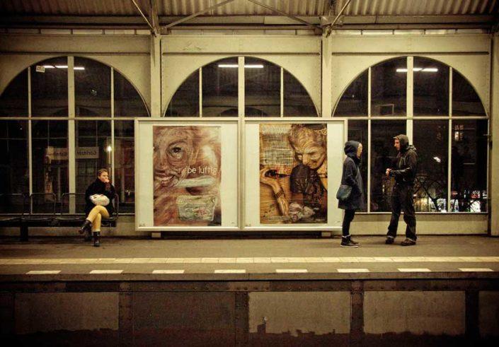 adbusting en metro